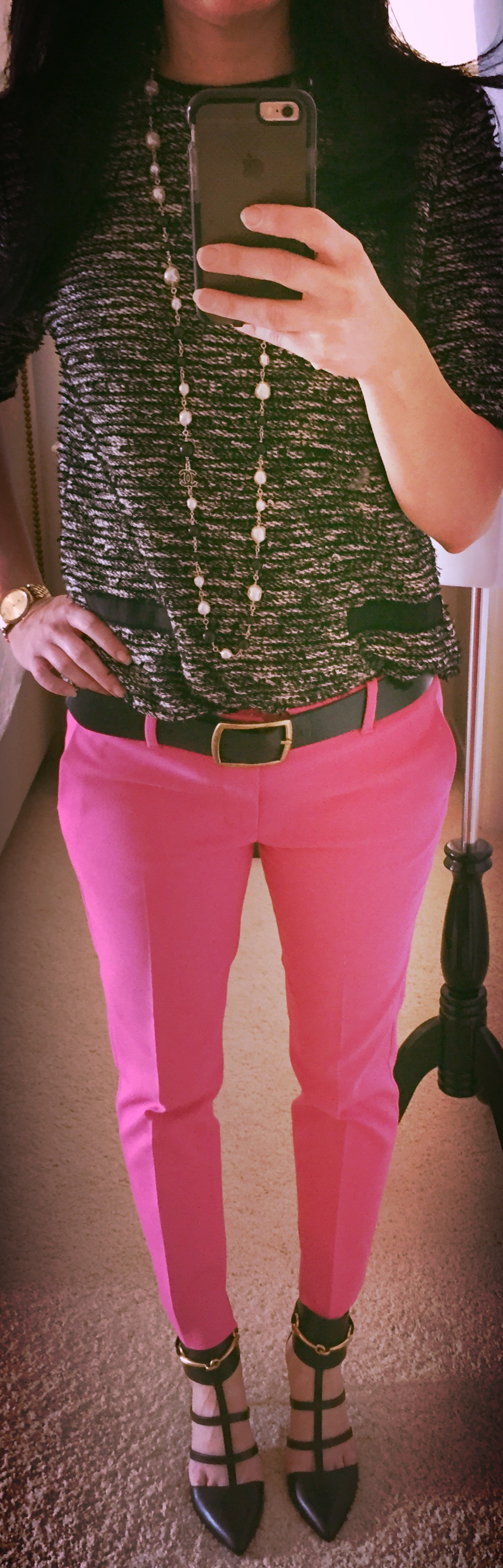 July 22, Pink trousers!