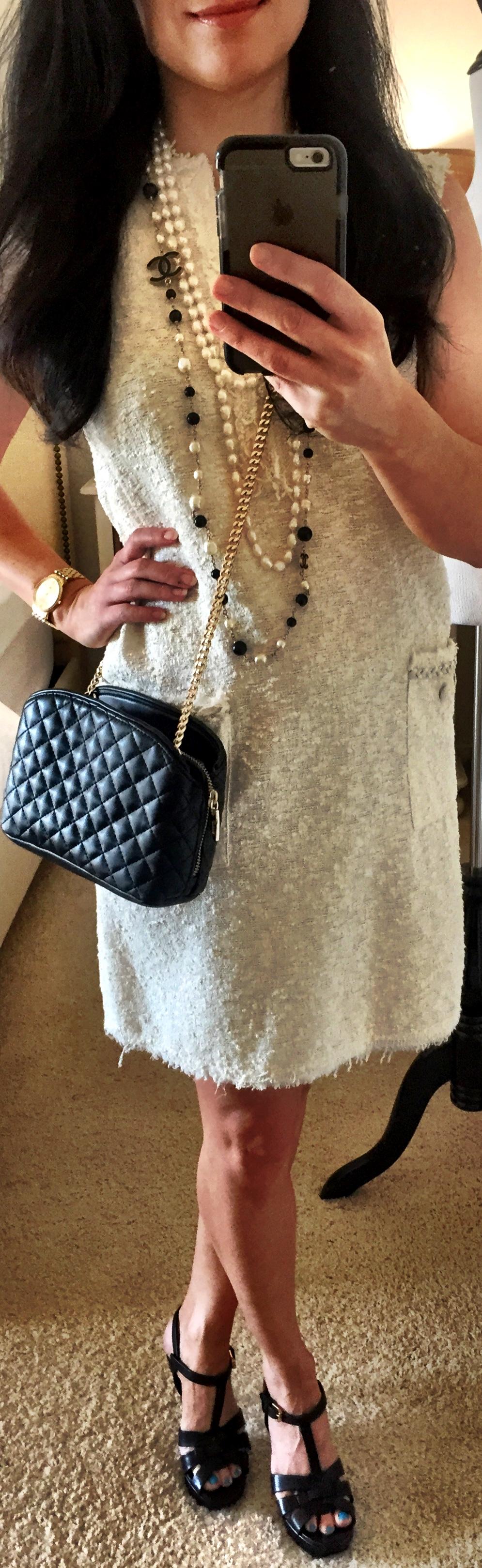 September 21, Textured Shift dress by Zara