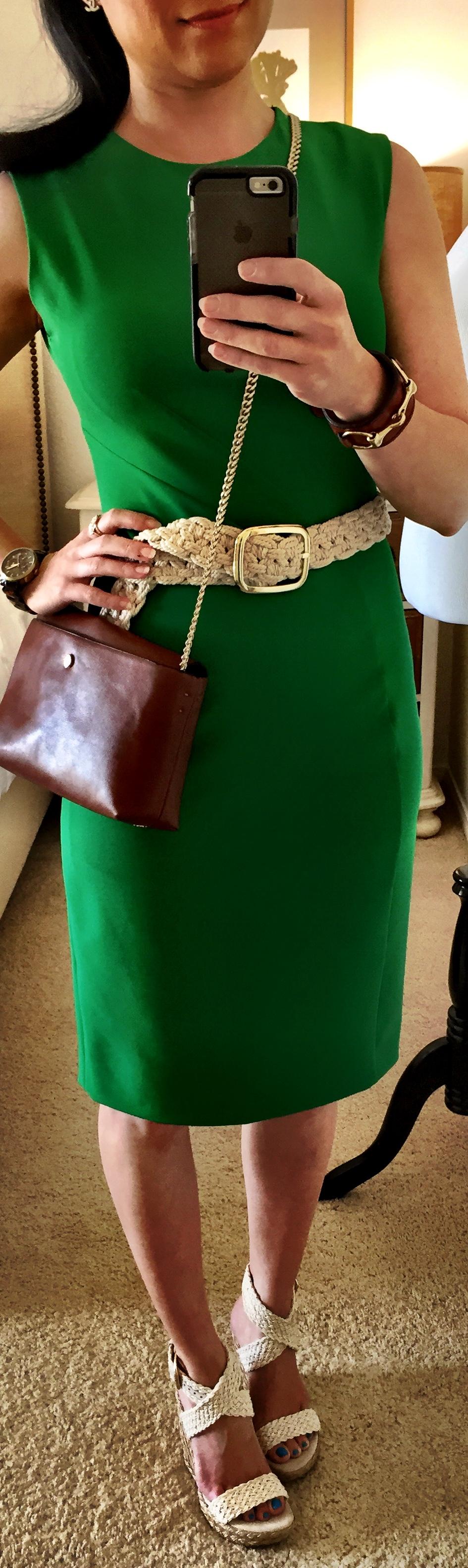 Sept 23, Wearing Kelly Green