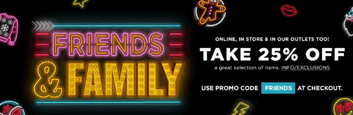 Bloomingdale's Friends and Family Sale is On