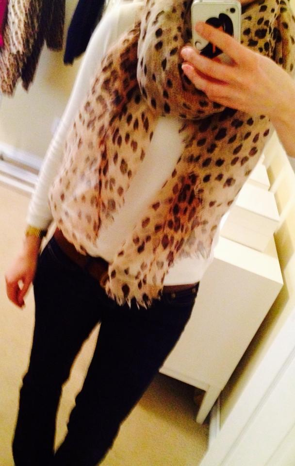 Fab Find, Leopard Scarf at Target!