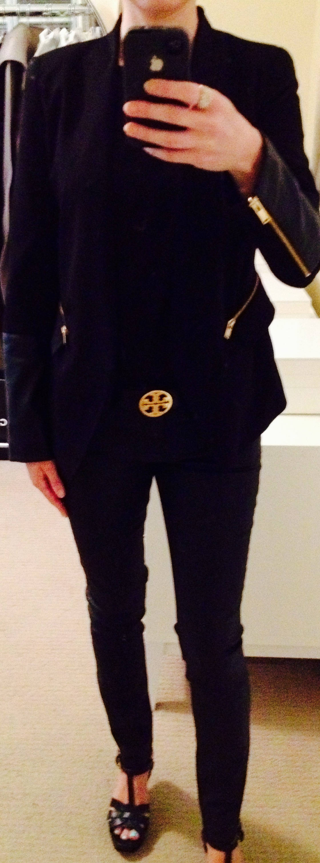 August 6, Black on Black with Tory Burch