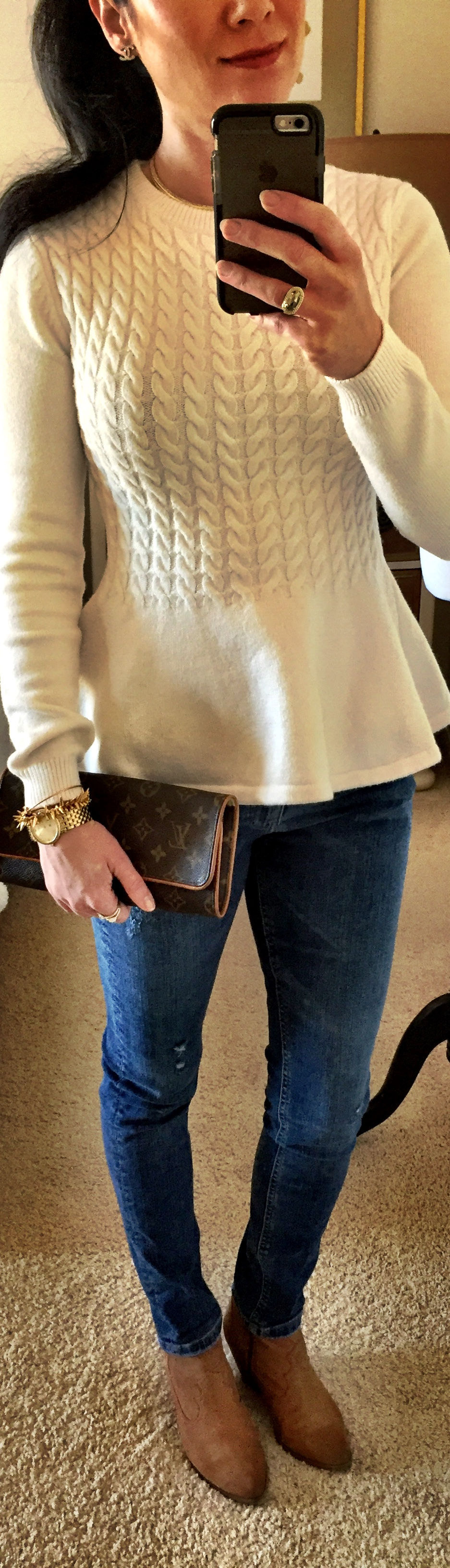 December 29, Ted Baker Peplum Sweater