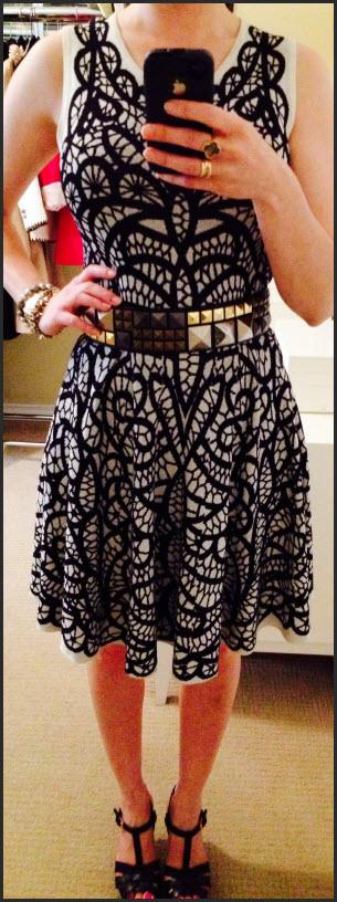 June 18, BCBG knit dress