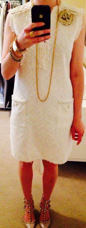 June 5, Chanel Inspired Shift Dress
