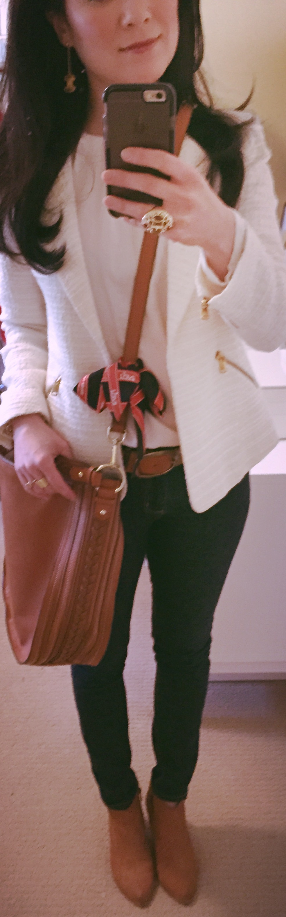 March 5, Accessorized with Hermes
