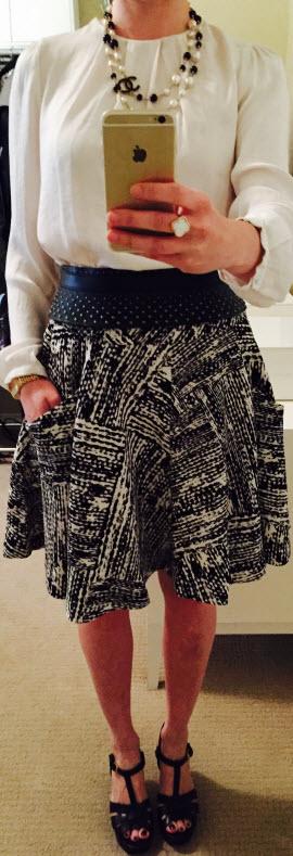 Nov 4, Skirt with Pockets