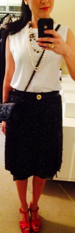 Sept 30, Fantasy Fabric Shimmer Skirt