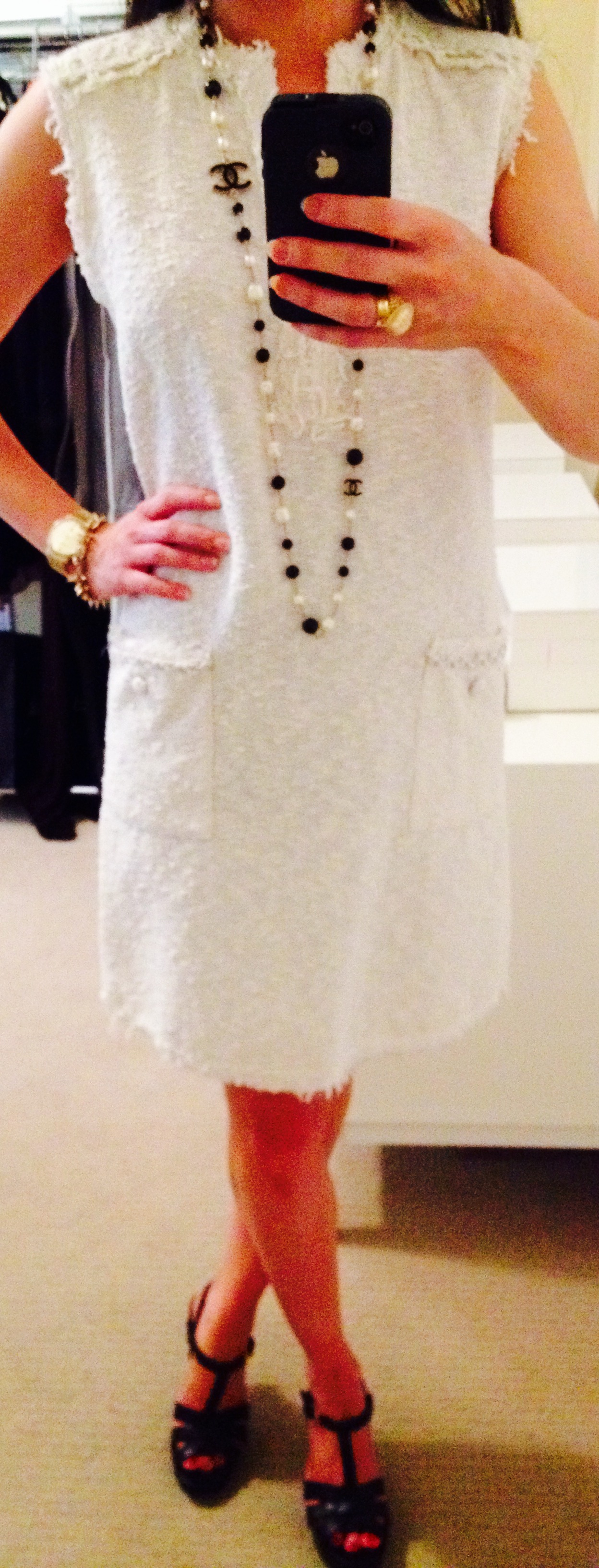 July 22, Chanel Inspired dress by Zara