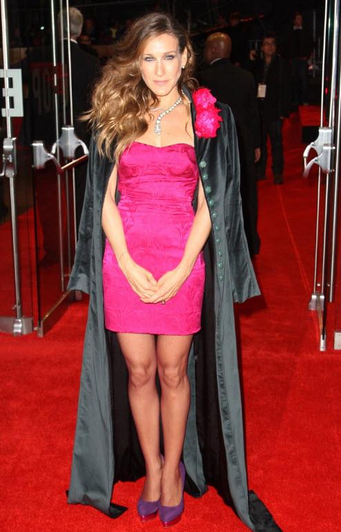 Sarah Jessica Parker on the Red Carpet