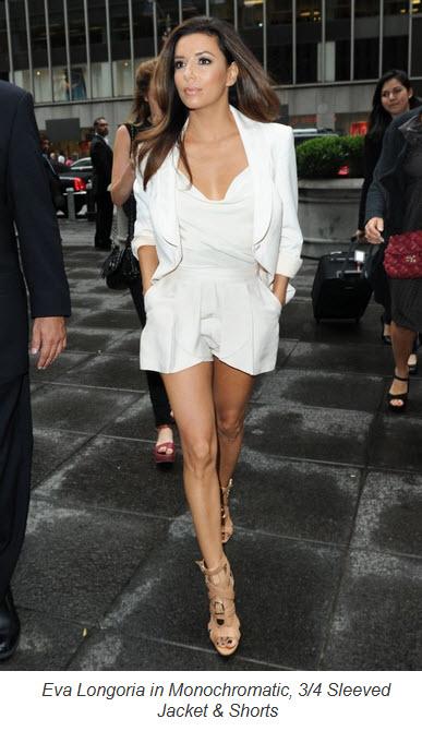 Eva Longoria's Petite Style