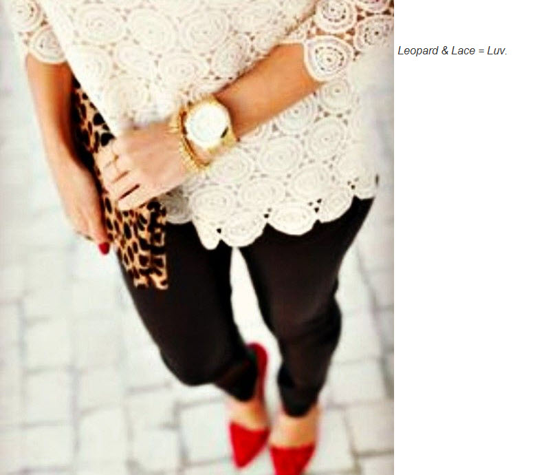 Leopard and Lace