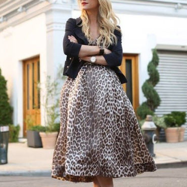The Secret to Wearing Animal Prints