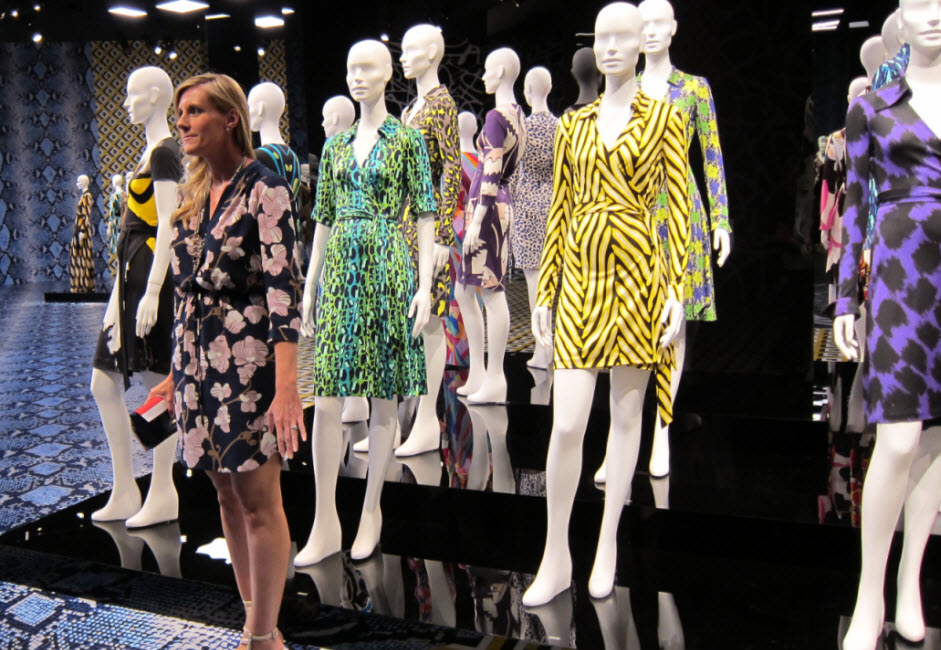 Christen Reynolds joins DVF Exhibit