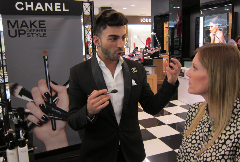 Kalyd Odeh Chanel National Makeup Artist is full of tips and tricks