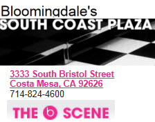 Bloomingdale's at South Coast Plaza