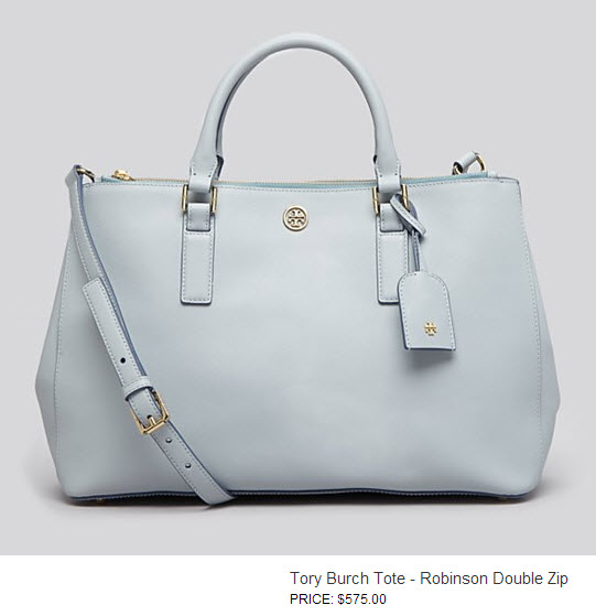 robinson Double Zip by Tory Burch