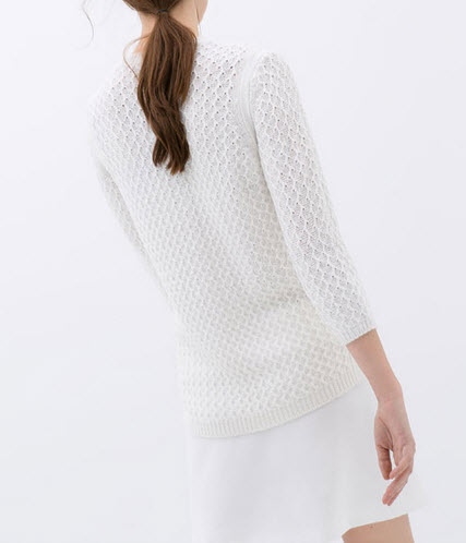 Detailed Knit Sweater is a winner for only $25