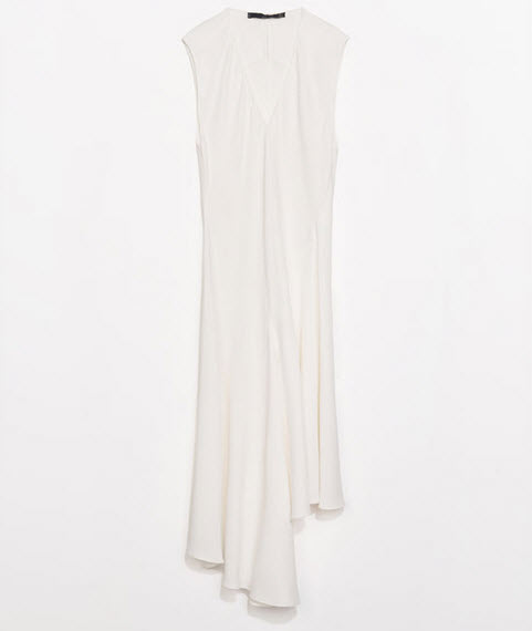 Asymmetric Hem Studio Dress by Zara.com $139