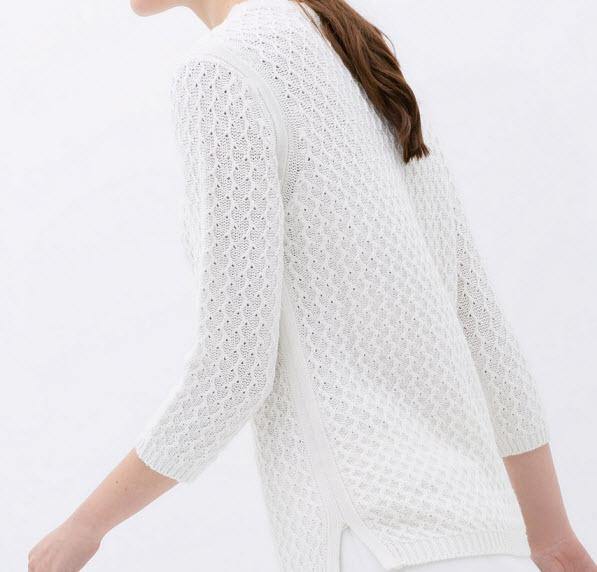 Fresh White Pullover