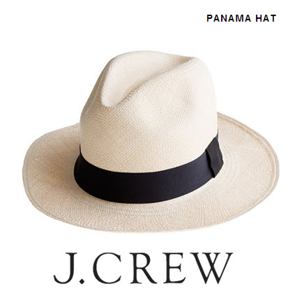 Panama Hat by J.Crew
