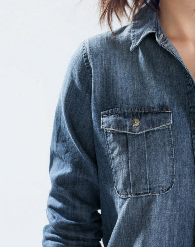 Denim Shirt from Zara.com