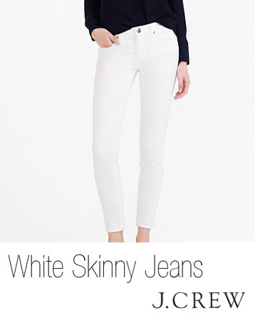 White Denim by J.Crew