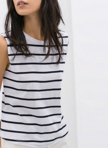 Striped Tee by Zara.com