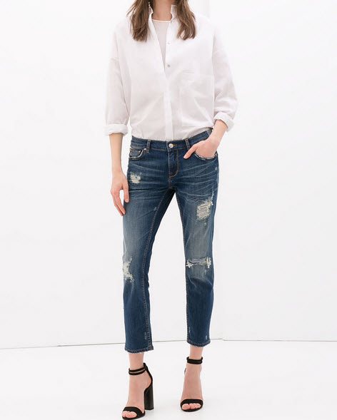 Low Rise Denim by Zara.com