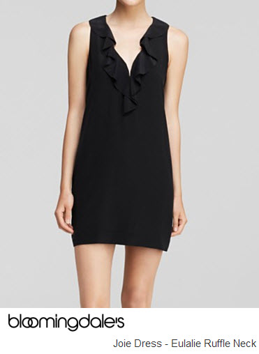 Ruffle Dress by Joie