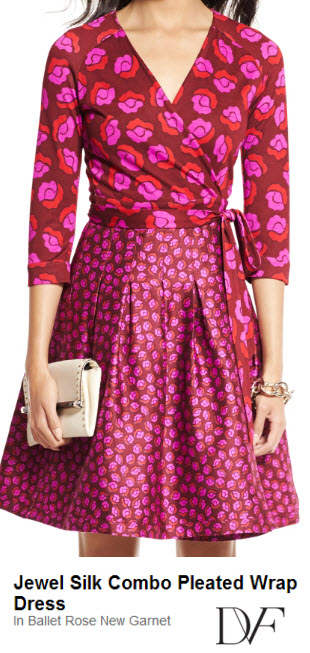 DVF Party Wrap Dress