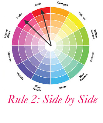 Rule 2: Any 2 colors side by side