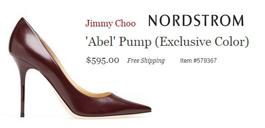 Jimmy Choo Abel Pump, Nordstrom