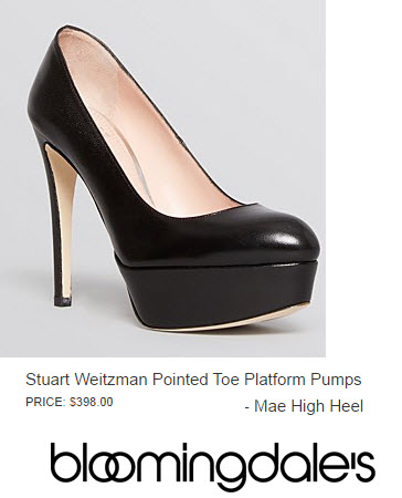 Stuart Weitzman Pointed Toe Platforms