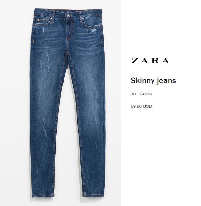 Skinny Jeans by Zara