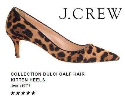 Kitten Heels by J.Crew