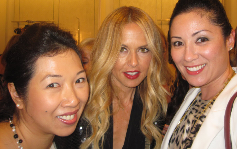 Brenda Law, Rachel Zoe and Christina Clay