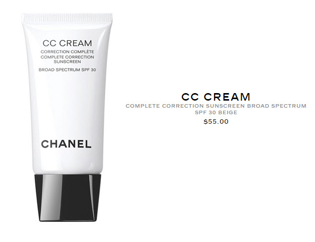 CC CREAM by Chanel