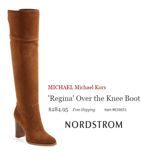 Michael Kors Regina Over The Knee Boot