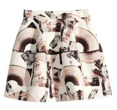 Patterned Skirt by H&M