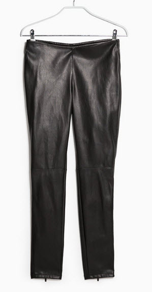 SLIM-FIT BIKER TROUSERS