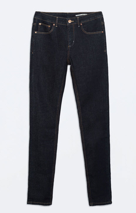 Medium Rise Skinny Jeans
