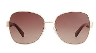 Luna Plaque Butterfly Sunglasses by Marc Jacobs