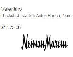 Valentino Rockstud Bootie