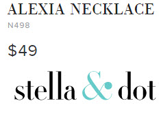 ALEXIA NECKLACE by Stella & Dot