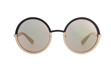 MARC by Marc Jacobs Colorblock Circle Sunglasses