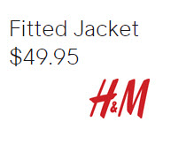 Fitted Jacket by H&M