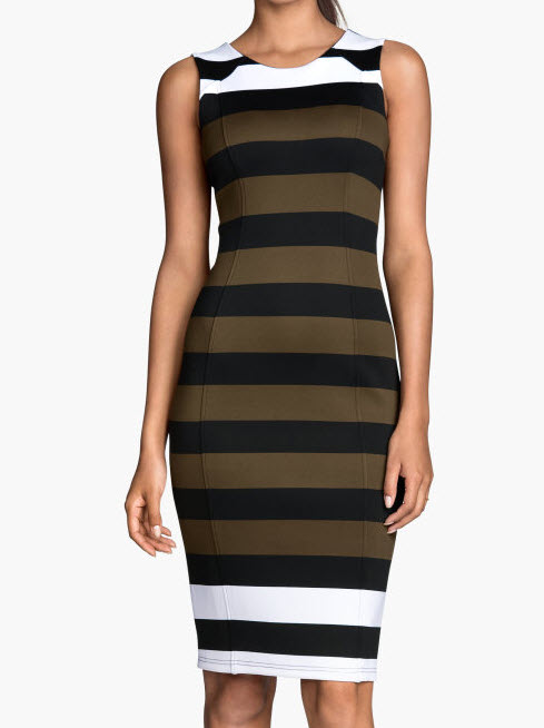 Striped Dress by H&M