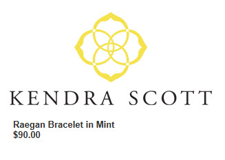 Kendra Scott, Raegan Bracelet in Mint