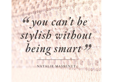 You can't be stylish without being smart
